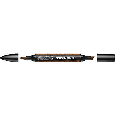 Foto variante MARKER W&N BRUSH MARKER BURNT SIENNA (O324)