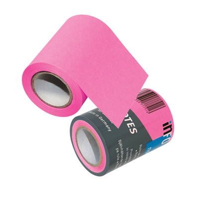 REFILL ROLL NOTES MM.60X8 MT ROSA FLUO