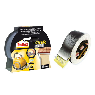 ADESIVO UNIVERSALE PATTEX POWER TAPE ULTRARESISTENTE 10 MT.GRIGIO