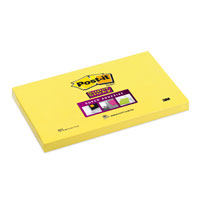 POST-IT 655S 76X127 SUPER STICKY GIALLO ORO
