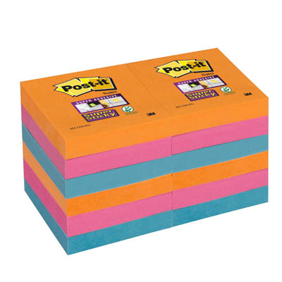POST-IT 622SS 51X51 SUPER STICKY ELECTRIC