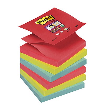 POST-IT RICAMBIO Z-NOTES SUPER STICKY PRECIOUS 76X76