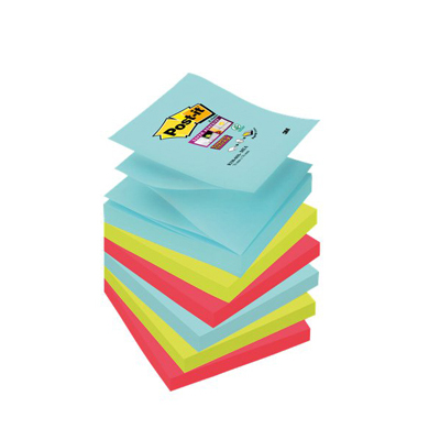 POST-IT RICAMBIO Z-NOTES R330 76X76 SUPER STICKY MIAMI