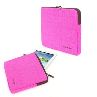 "BUSTA SLEEVE FLUO PER TABLET 7/8"" FUCSIA"