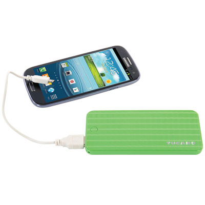 POWER BANK BRICK 2200 POLIMER MAH VERDE