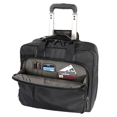 "TROLLEY PORTA NOTEBOOK CENTRO TRAVEL 15,6"" NERO"