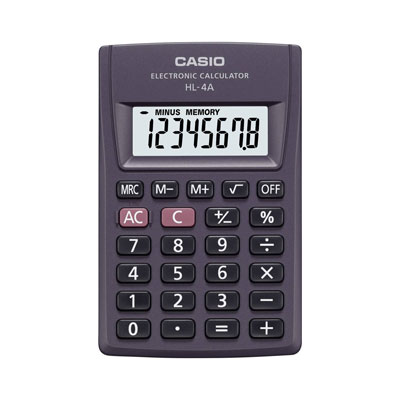 CALCOLATRICE TASCABILE CASIO 8 CIFRE BIG DISPLAY