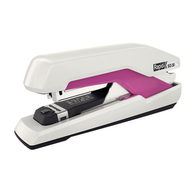 CUCITRICE RAPID SO30 OMNIPRESS BIANCO ROSA