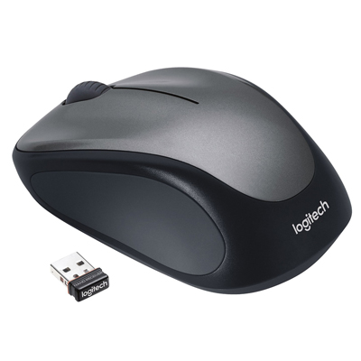 MOUSE LOGITECH OTTICO WIRELESS M235 NERO/GRIGIO SCURO