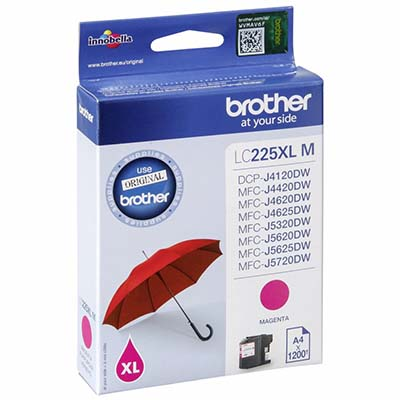 INK BROTHER LC225XLM MAGENTA
