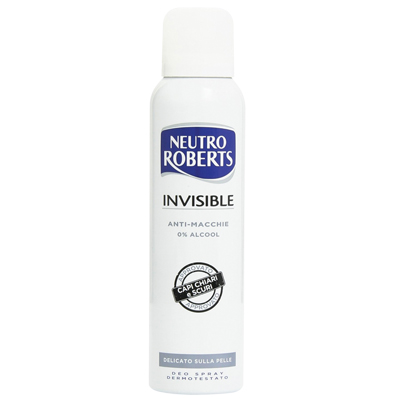 NEUTRO ROBERTS DEODORANTE SPRAY INVISIBLE ML.125