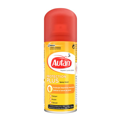 AUTAN PROTECTION PLUS SPRAY SECCO ML.100