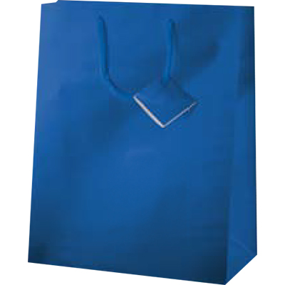 SHOPPER METAL BLU 18X10X23