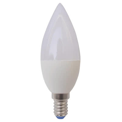 LAMPADINA A LED OLIVA 6W E14 WARMWHITE IN BLISTER