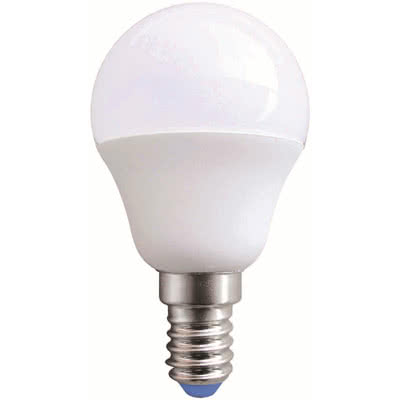 LAMPADINA A LED SFERA 6W E14 WARMWHITE IN BLISTER