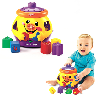 GIOCO DIDATTICO GEDEONE MANGIAFORME FISHER PRICE