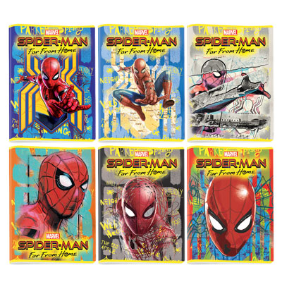 QUADERNO MAXI A4 FG.20+1 SPIDERMAN LEGENDARY GR.80 RIG.10